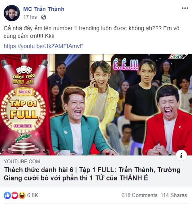 Tập 1 Thách thức danh hài bất ngờ chiếm ngôi vương của clip reaction Em gì ơi trên top Trending - Ảnh 1.