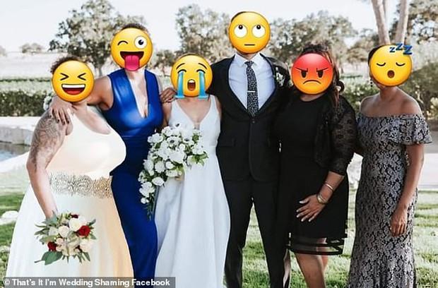 Họ hàng ăn mặc hở hang tới đám cưới, cô dâu tuyệt vọng nhờ dân mạng tút tát lại ảnh để rồi nhận được thành phẩm cười ra nước mắt - Ảnh 5.