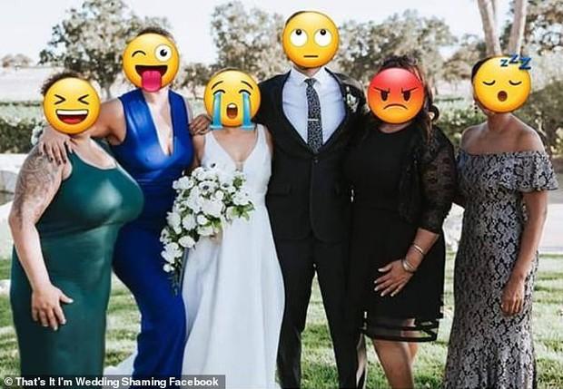 Họ hàng ăn mặc hở hang tới đám cưới, cô dâu tuyệt vọng nhờ dân mạng tút tát lại ảnh để rồi nhận được thành phẩm cười ra nước mắt - Ảnh 3.