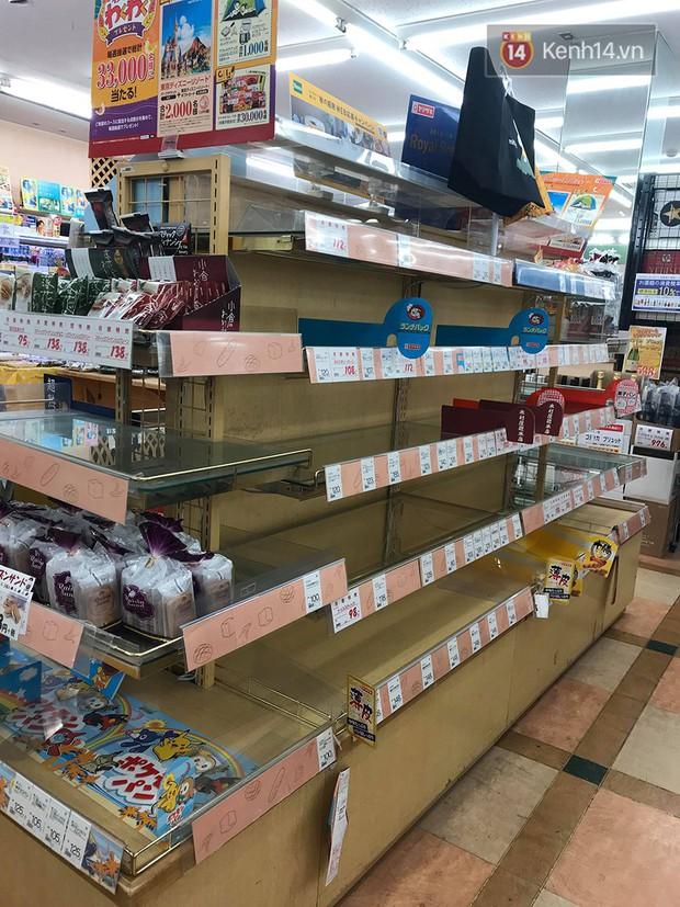 Siêu bão Hagibis quét qua Nhật: chưa bao giờ các siêu thị rơi vào tình trạng cháy hàng đến vậy, ai tích trữ được gì là tích trữ - Ảnh 5.