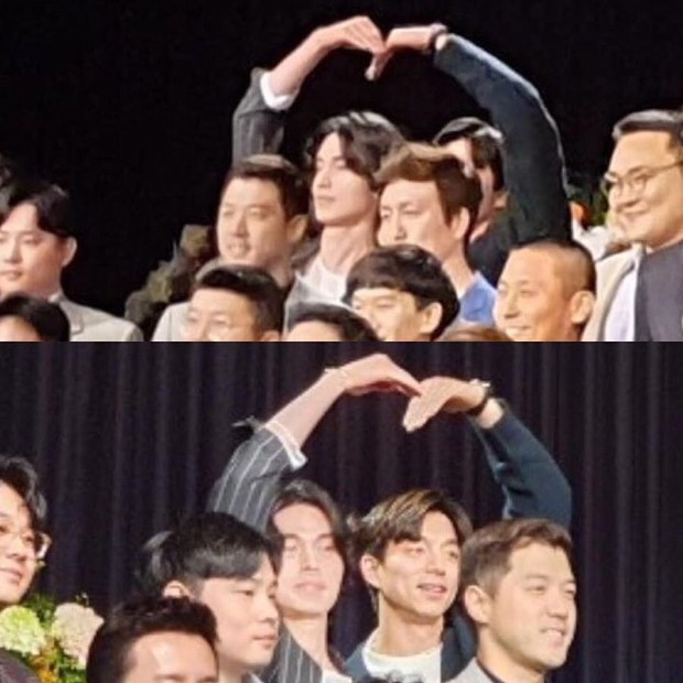 Đám cưới HLV gây bão: Cặp thần chết Lee Dong Wook - Gong Yoo bắm tim tung tóe, chiếm trọn spotlight vì đẹp bất chấp - Ảnh 3.