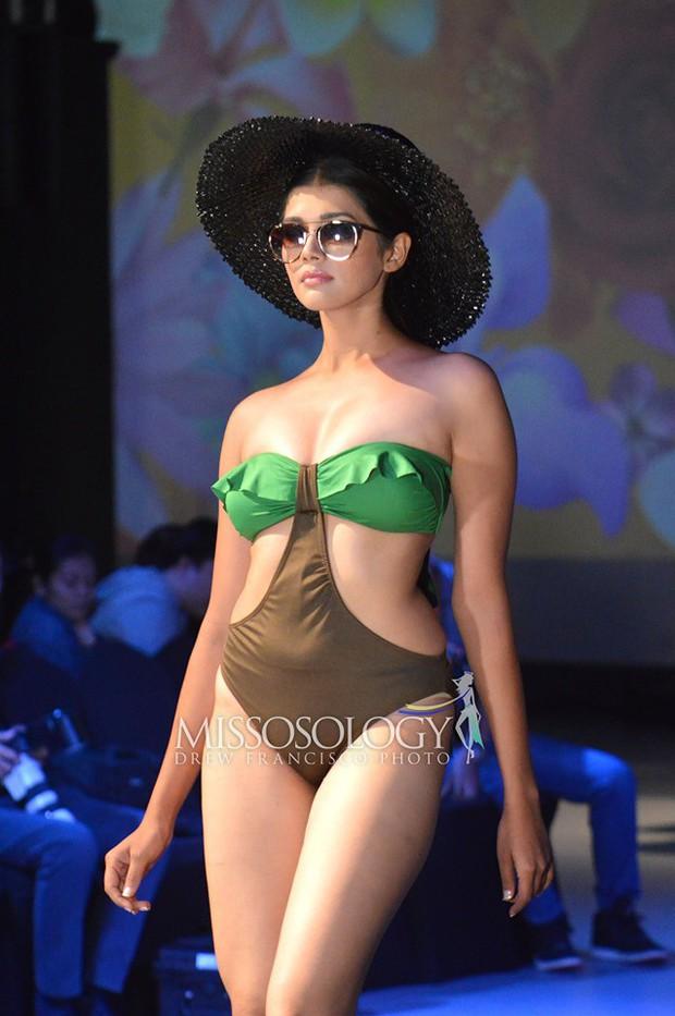 Hoàng Hạnh diện bikini đọ dáng bên dàn thí sinh Miss Earth ngấn mỡ nhưng vẫn chưa tạo nên kỳ tích! - Ảnh 4.