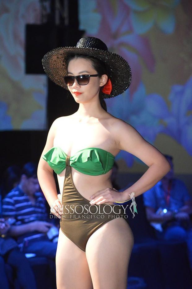 Hoàng Hạnh diện bikini đọ dáng bên dàn thí sinh Miss Earth ngấn mỡ nhưng vẫn chưa tạo nên kỳ tích! - Ảnh 3.