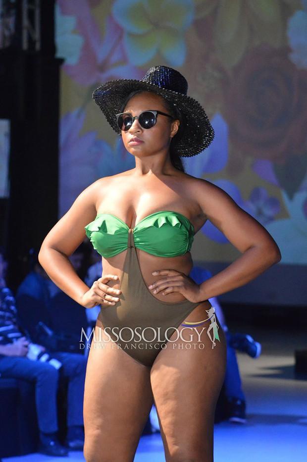 Hoàng Hạnh diện bikini đọ dáng bên dàn thí sinh Miss Earth ngấn mỡ nhưng vẫn chưa tạo nên kỳ tích! - Ảnh 7.