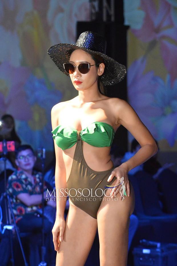 Hoàng Hạnh diện bikini đọ dáng bên dàn thí sinh Miss Earth ngấn mỡ nhưng vẫn chưa tạo nên kỳ tích! - Ảnh 2.