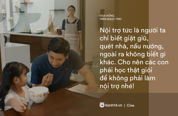 Những câu mắng mỏ nghe là phát điên của Thái (Hoa Hồng Trên Ngực Trái): Cô ta ở nhà chỉ biết ăn, biết đẻ rồi đặt điều nói xấu chồng - Ảnh 5.