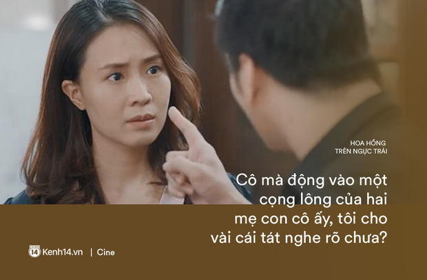Những câu mắng mỏ nghe là phát điên của Thái (Hoa Hồng Trên Ngực Trái): Cô ta ở nhà chỉ biết ăn, biết đẻ rồi đặt điều nói xấu chồng - Ảnh 15.