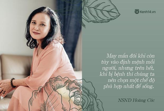 NSND Hoàng Cúc (Hoa Hồng Trên Ngực Trái): Dù mai có tận thế thì hôm nay tôi vẫn phải chiến đấu và chiến thắng - Ảnh 20.