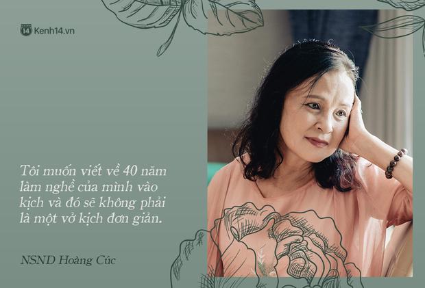 NSND Hoàng Cúc (Hoa Hồng Trên Ngực Trái): Dù mai có tận thế thì hôm nay tôi vẫn phải chiến đấu và chiến thắng - Ảnh 22.
