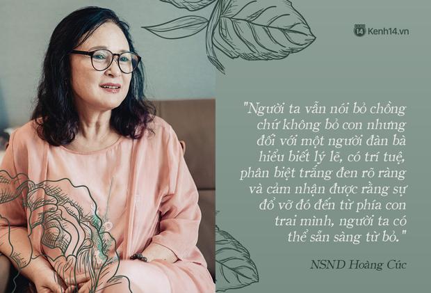 NSND Hoàng Cúc (Hoa Hồng Trên Ngực Trái): Dù mai có tận thế thì hôm nay tôi vẫn phải chiến đấu và chiến thắng - Ảnh 6.