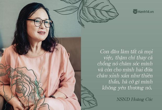 NSND Hoàng Cúc (Hoa Hồng Trên Ngực Trái): Dù mai có tận thế thì hôm nay tôi vẫn phải chiến đấu và chiến thắng - Ảnh 4.