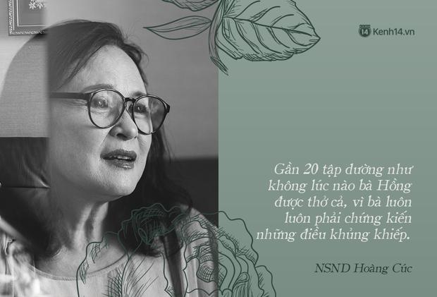 NSND Hoàng Cúc (Hoa Hồng Trên Ngực Trái): Dù mai có tận thế thì hôm nay tôi vẫn phải chiến đấu và chiến thắng - Ảnh 7.