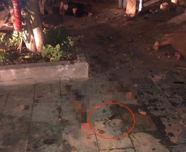 Nghi vấn giang hồ đi ô tô bán tải tông 2 thanh niên đi xe máy dừng đèn đỏ làm 1 người chết, 1 người bị thương - Ảnh 3.