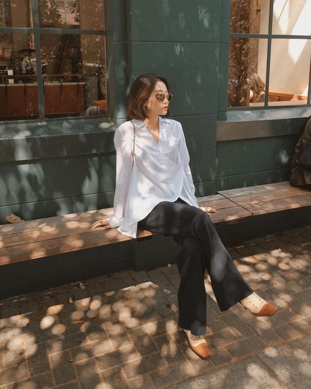 """5 mẫu áo sơ mi đang chiếm sóng Thu 2019, mau tậu gấp để """"nâng level"""" phong cách thôi các nàng công sở! - Ảnh 3."""