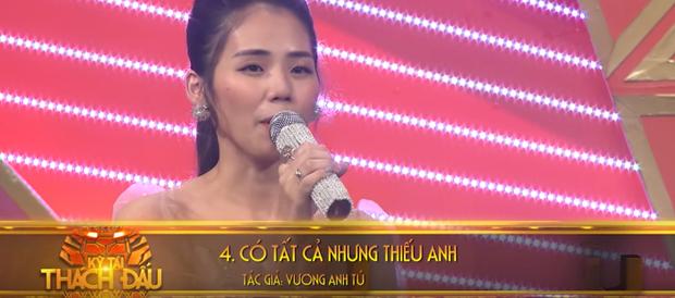 Hương Ly cover một lèo 11 bản hit trên truyền hình, có cả ca khúc lùm xùm với Erik - Ảnh 3.