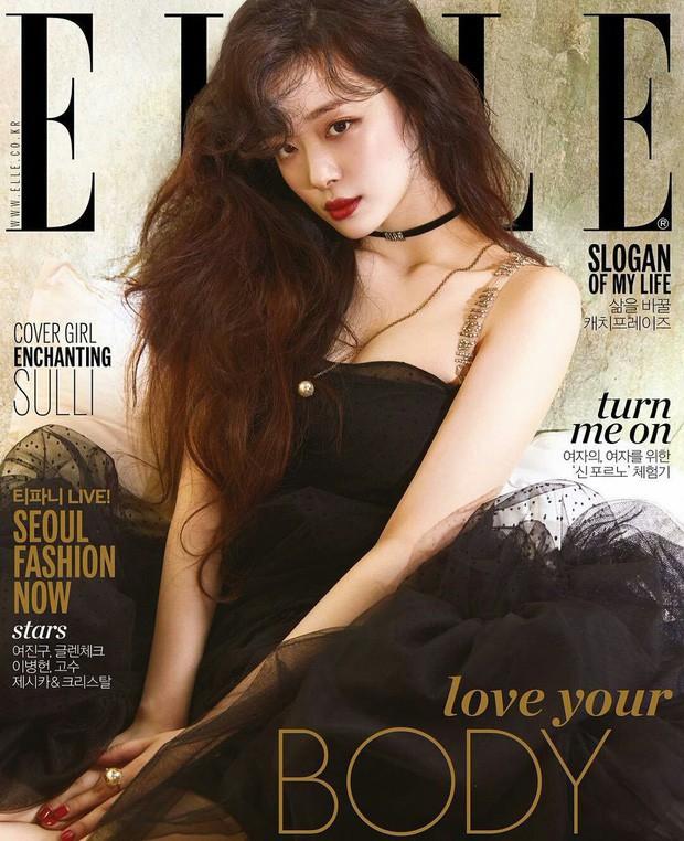 Choi Sulli: Nàng hoa lê tuyết được Lee So Man cưng chiều nhưng làm gì, yêu ai cũng chẳng bao giờ vừa mắt netizen Hàn - Ảnh 12.