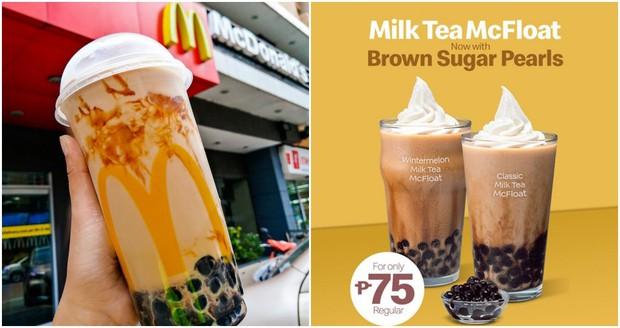Đến McDonald's cũng chạy theo trend trân châu đường đen: Châu Á trở thành trung tâm ẩm thực mới rồi hay sao? - Ảnh 1.