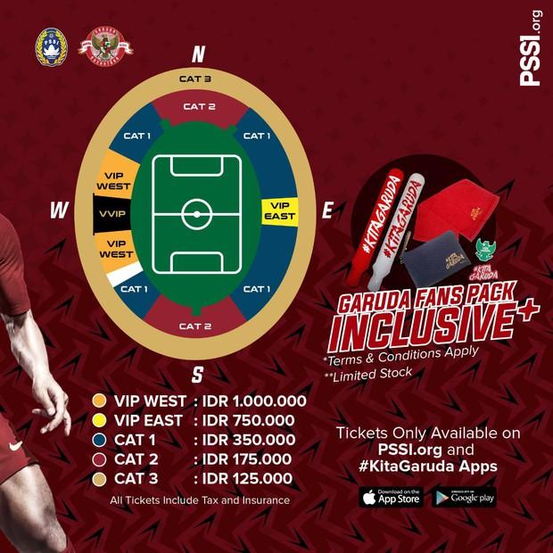 Indonesia bán vé xem vòng loại World Cup 2022 rẻ hơn Việt Nam - Ảnh 2.