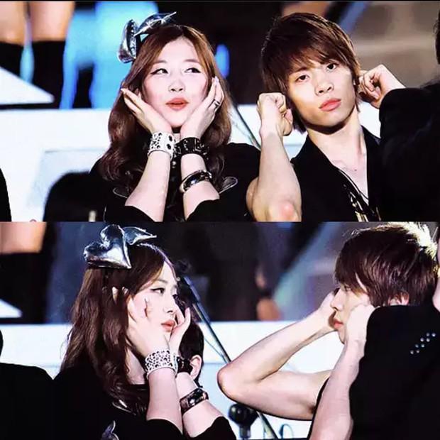 Hình ảnh Sulli và Jonghyun đứng cạnh nhau khiến fan rưng rưng nước mắt: Không bao giờ chúng ta được nhìn thấy những nụ cười thiên thần này nữa - Ảnh 6.