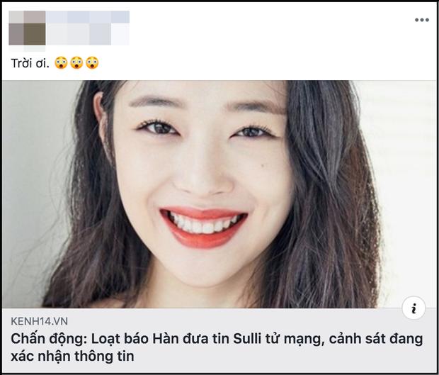 Fanpage của Sulli ở Việt Nam chính thức đóng cửa sau cái chết đột ngột của cựu thành viên F(x) - Ảnh 4.