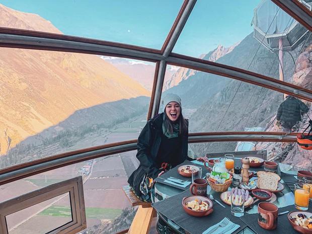 """""""Chiếm đóng"""" giữa kỳ quan thiên nhiên như Mã Pì Lèng Panorama, khách sạn lưng chừng núi ở Peru lại được khen hết lời - Ảnh 22."""
