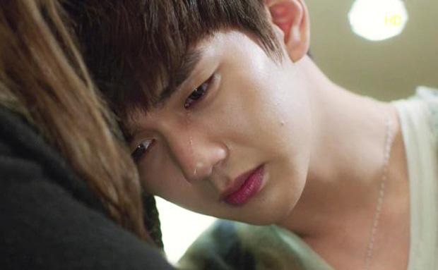 5 mỹ nam rơi lệ mà vẫn đẹp: Chú Thần Chết nức nở như con nít, Park Bo Gum làm chị em muốn nhào tới vỗ về - Ảnh 1.