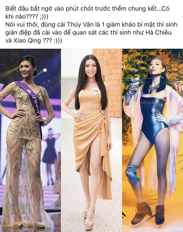 Thuyết âm mưu: Thúy Vân có phải là gián điệp được cài vào Hoa hậu Hoàn vũ Việt Nam? - Ảnh 8.