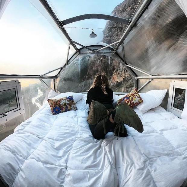 """""""Chiếm đóng"""" giữa kỳ quan thiên nhiên như Mã Pì Lèng Panorama, khách sạn lưng chừng núi ở Peru lại được khen hết lời - Ảnh 11."""