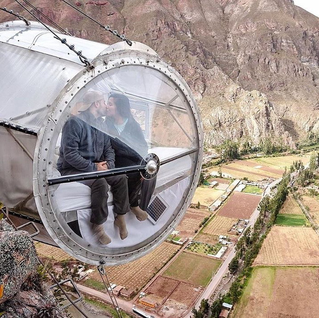 """""""Chiếm đóng"""" giữa kỳ quan thiên nhiên như Mã Pì Lèng Panorama, khách sạn lưng chừng núi ở Peru lại được khen hết lời - Ảnh 18."""