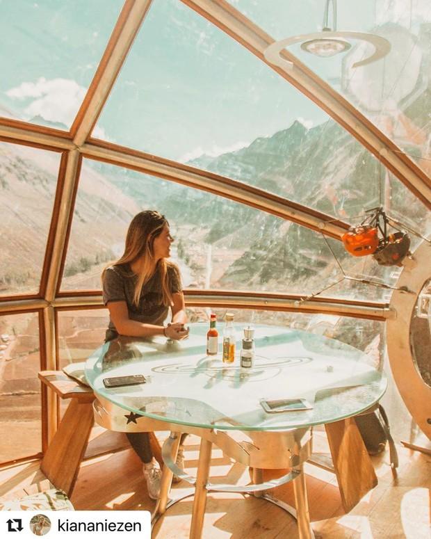 """""""Chiếm đóng"""" giữa kỳ quan thiên nhiên như Mã Pì Lèng Panorama, khách sạn lưng chừng núi ở Peru lại được khen hết lời - Ảnh 12."""