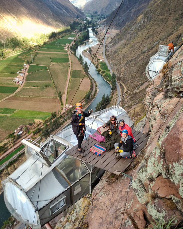 """""""Chiếm đóng"""" giữa kỳ quan thiên nhiên như Mã Pì Lèng Panorama, khách sạn lưng chừng núi ở Peru lại được khen hết lời - Ảnh 9."""