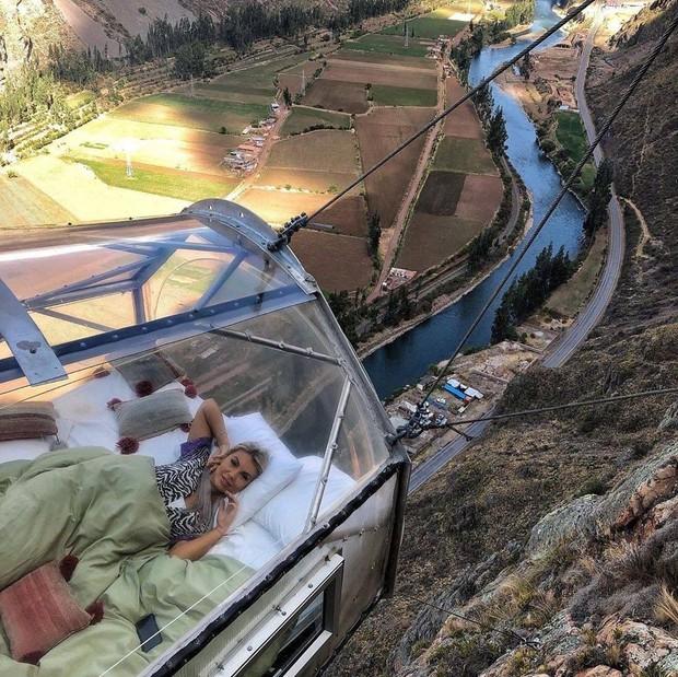 """""""Chiếm đóng"""" giữa kỳ quan thiên nhiên như Mã Pì Lèng Panorama, khách sạn lưng chừng núi ở Peru lại được khen hết lời - Ảnh 17."""