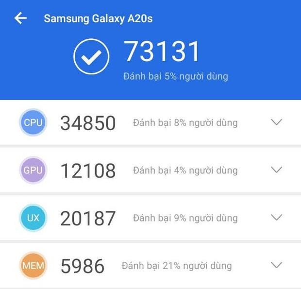 """Trên tay Galaxy A20s đỏ chót: Bản nâng cấp """"nhẹ"""", thêm camera, màn hình LCD, chip Snapdragon 450 và lựa chọn bộ nhớ 64GB - Ảnh 3."""