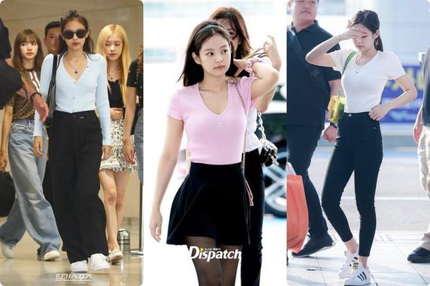 Cứ lên đồ là Jennie (Black Pink) dắt túi 5 tuyệt chiêu hack chiều cao, bảo sao chỉ cao hơn 1m6 mà nhìn như 1m7 - Ảnh 6.