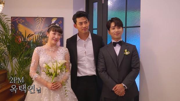 Hôn lễ cặp đôi cưới sau 700 ngày yêu: Lung linh, cô dâu lộng lẫy, Taecyeon (2PM) cùng dàn nam thần MBLAQ đến chung vui - Ảnh 15.