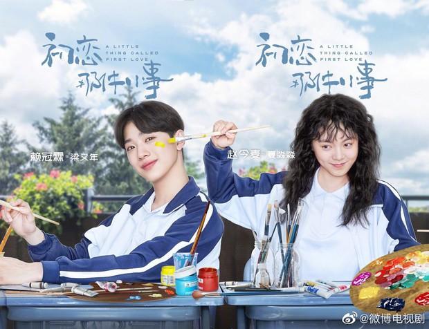 A Little Thing Called First Love bản Trung tung teaser tiểu đường: Chưa đầy một phút Lai Kuan Lin ôm nữ chính 800 lần? - Ảnh 1.