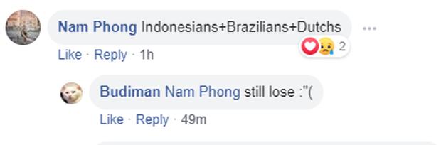 CĐV Indonesia vẫn rất tự hào sau trận thua: Ít nhất là chúng ta đã ghi được bàn vào lưới Việt Nam - Ảnh 3.