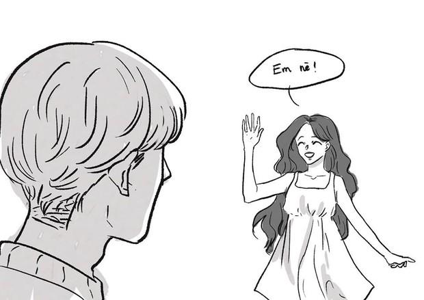 Truyện tranh về Jonghyun và Sulli - 2 idol gặp nhau ở 1 thế giới khác: Em đã vất vả nhiều rồi, ở đây tóc tai màu gì cũng được - Ảnh 4.