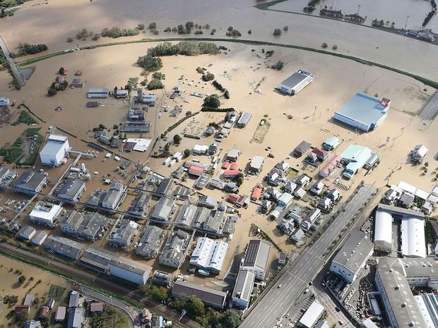 Ít nhất 56 người thiệt mạng do bão Hagibis tại Nhật Bản - Ảnh 1.