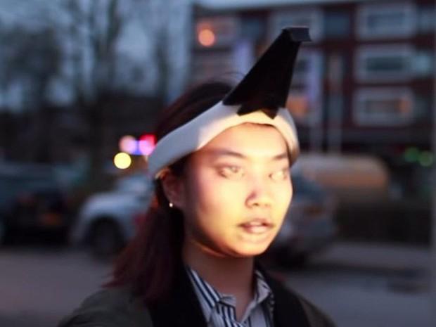 Muôn hình vạn trạng kiểu thời trang kinh dị nhằm đánh lừa camera nhận diện gương mặt trên phố - Ảnh 3.