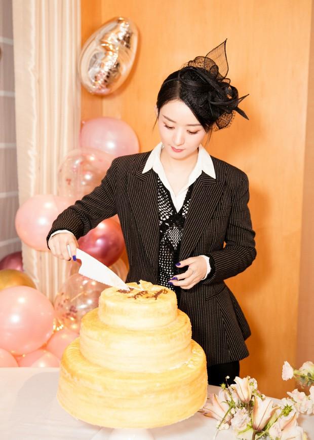 Triệu Lệ Dĩnh đón sinh nhật tuổi 32, Phùng Thiệu Phong hoàn toàn vắng mặt mà chỉ có 1 hành động duy nhất - Ảnh 1.