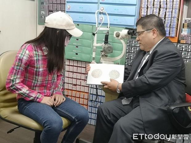 Dùng điện thoại quá nhiều, nữ sinh Đài Loan bị mù màu đến nỗi suýt gặp tai nạn khi qua đường - Ảnh 3.