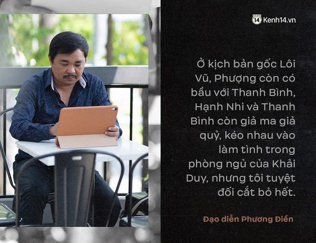 """Đạo diễn Nguyễn Phương Điền: Tôi không lăng xê hai chữ """"loạn luân"""", Tiếng Sét Trong Mưa dừng lại giữa ranh giới phản cảm và bi kịch - Ảnh 13."""
