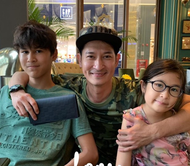 Con trai Huy Khánh sở hữu vẻ ngoài điển trai và chiều cao 1m8 dù mới 14 tuổi: Đúng là con nhà tông! - Ảnh 5.