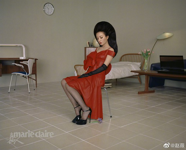 Hình ảnh gây sốt Weibo: Triệu Vy của 21 năm trước và bây giờ vẫn chẳng thay đổi, bảo sao Huỳnh Hiểu Minh ngày ấy say mê - Ảnh 12.