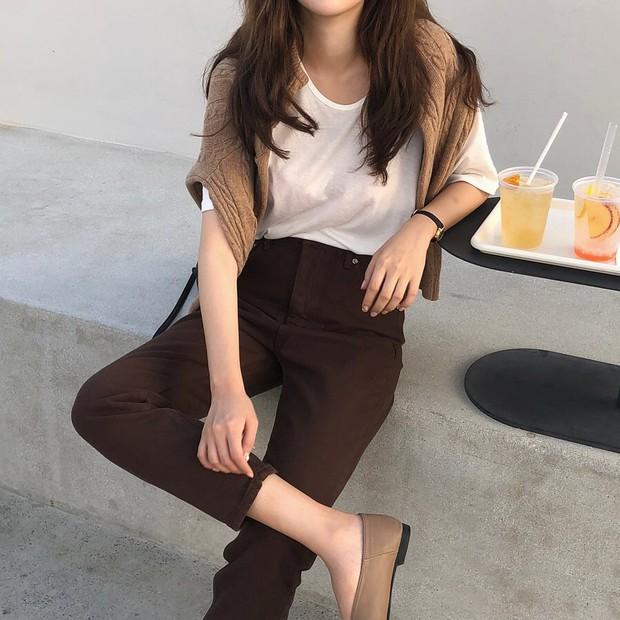 10 ý tưởng phối layer ngày se lạnh của hot girl Hàn: chỉ cần diện y chang là bạn có ngay vẻ sang xịn ao ước - Ảnh 4.