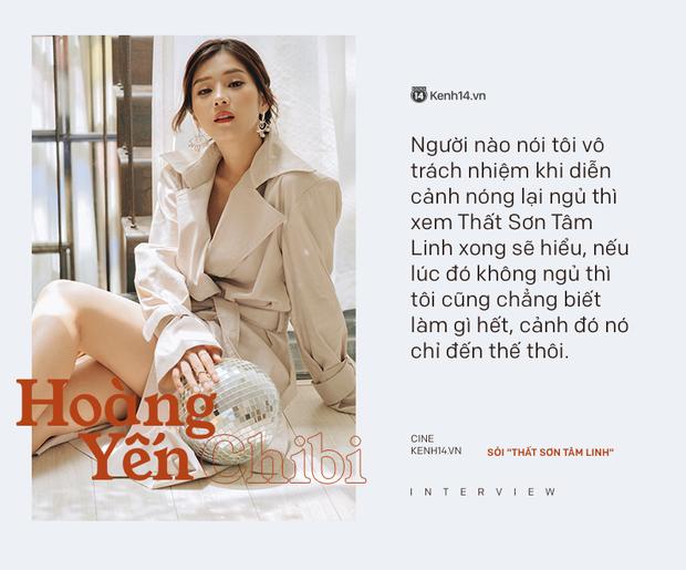 """Hoàng Yến Chibi: """"Người nào nói tôi đóng cảnh nóng vô trách nhiệm, xem Thất Sơn Tâm Linh sẽ hiểu vì sao tôi chỉ đóng có thế"""" - Ảnh 8."""