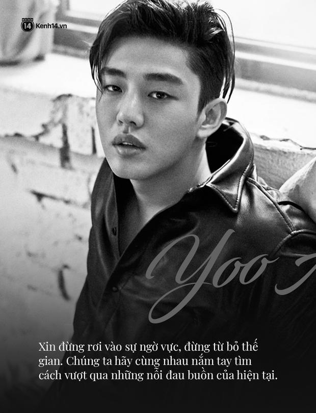 Yoo Ah In - Kẻ khác người viết tâm thư cho một thiên thần khác biệt Sulli: Tôi coi em ấy là một người hùng - Ảnh 8.