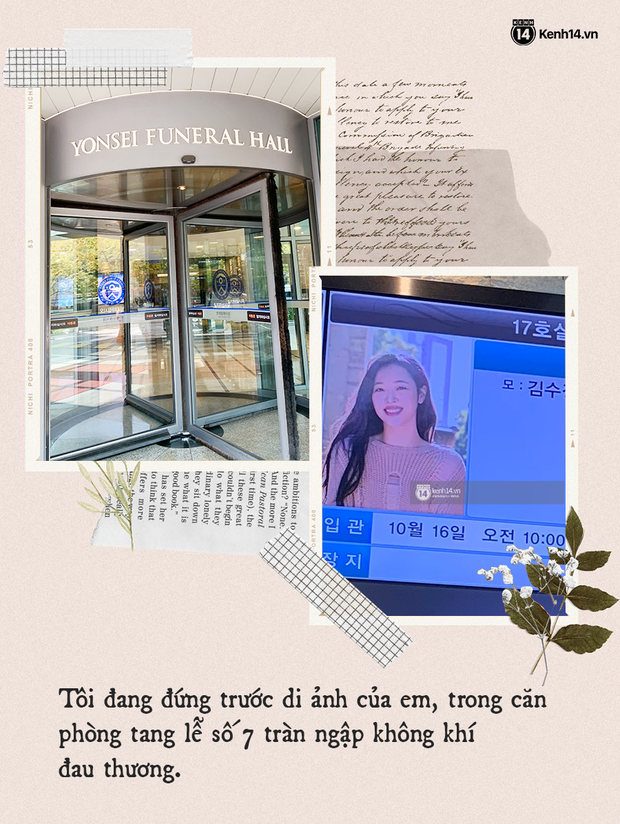 Nhật ký hành trình của một fan Việt đến Hàn Quốc: Tôi đã bật khóc trước di ảnh của em. Tạm biệt nhé, Sulli bé nhỏ! - Ảnh 1.
