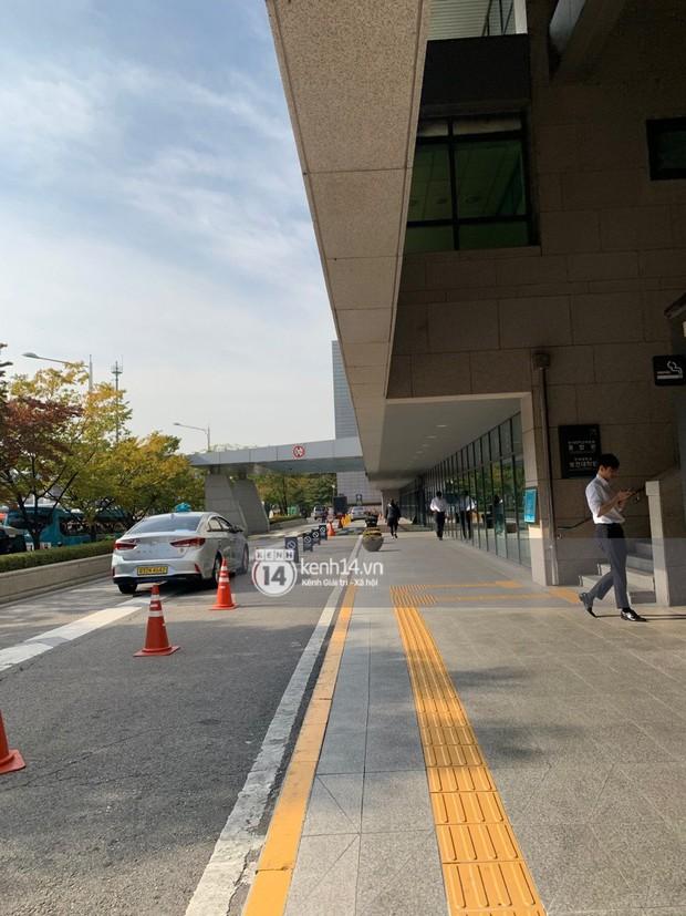 Độc quyền tang lễ Sulli từ Hàn: Fan khiếm thị một mình đến chờ, Yoo Ah In tiết lộ sao Hàn đã đến viếng từ rạng sáng - Ảnh 26.